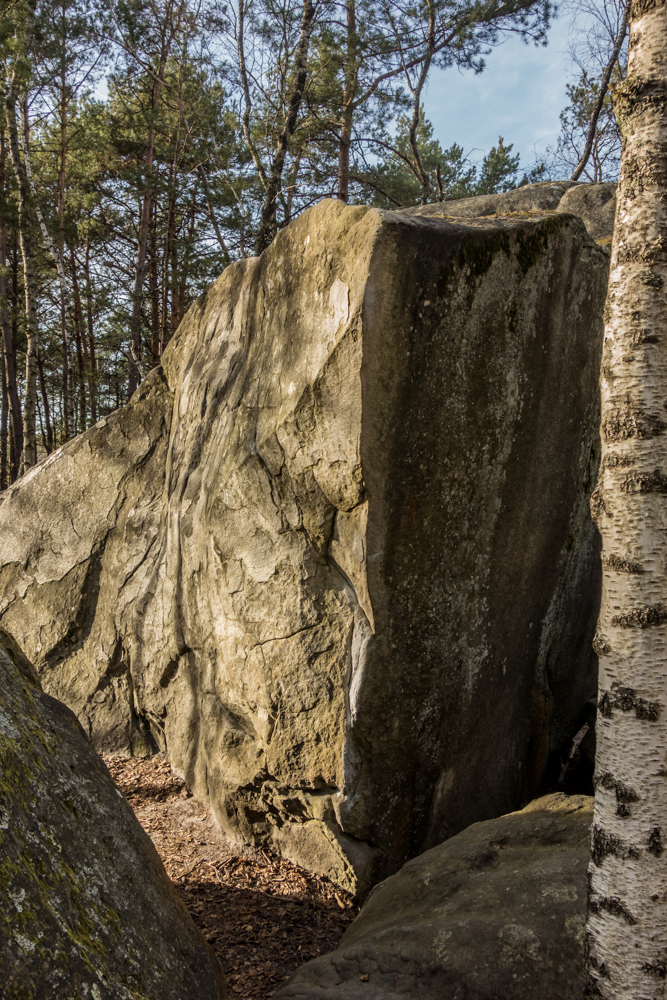 Le Renard Bleu (7a) - a great feature but a soft touch for the tall